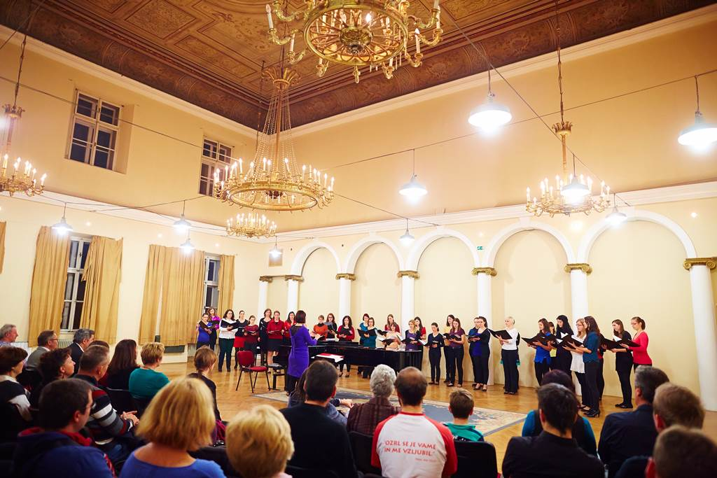Zaključni koncert mojstrskega tečaja 17. 11. 2013 v dvorani Kazina v Ljubljani Foto: Janez Kotar