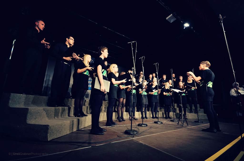 4. Zborovski festival ljudske pesmi Prevalje, 2012 Foto: Uroš Grabner