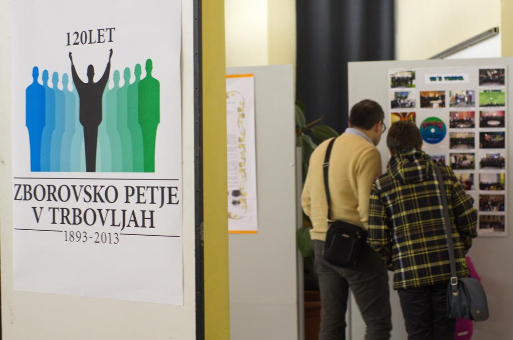 Fotografska razstava ob 120-letnici – fotoreportaža vseh zborov v Trbovljah Foto: Andrej Uduč