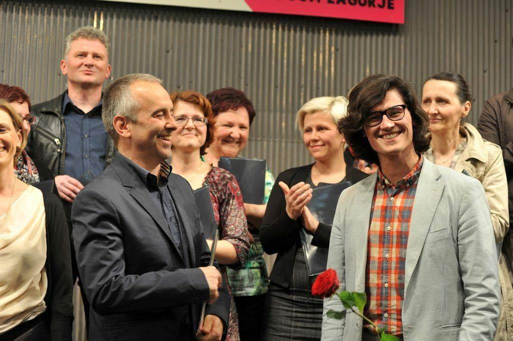 Podelitev nagrade za »naj skladbo« Zagorja 2014 Foto: Janez Eržen