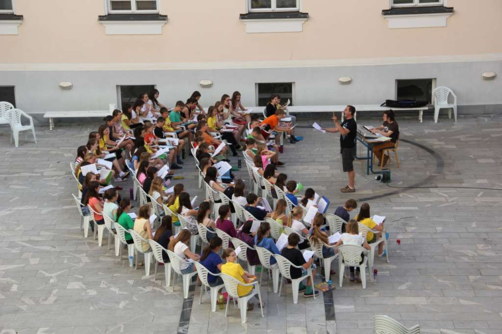Otroci so pridno vadili ves teden Foto: Matija Jager