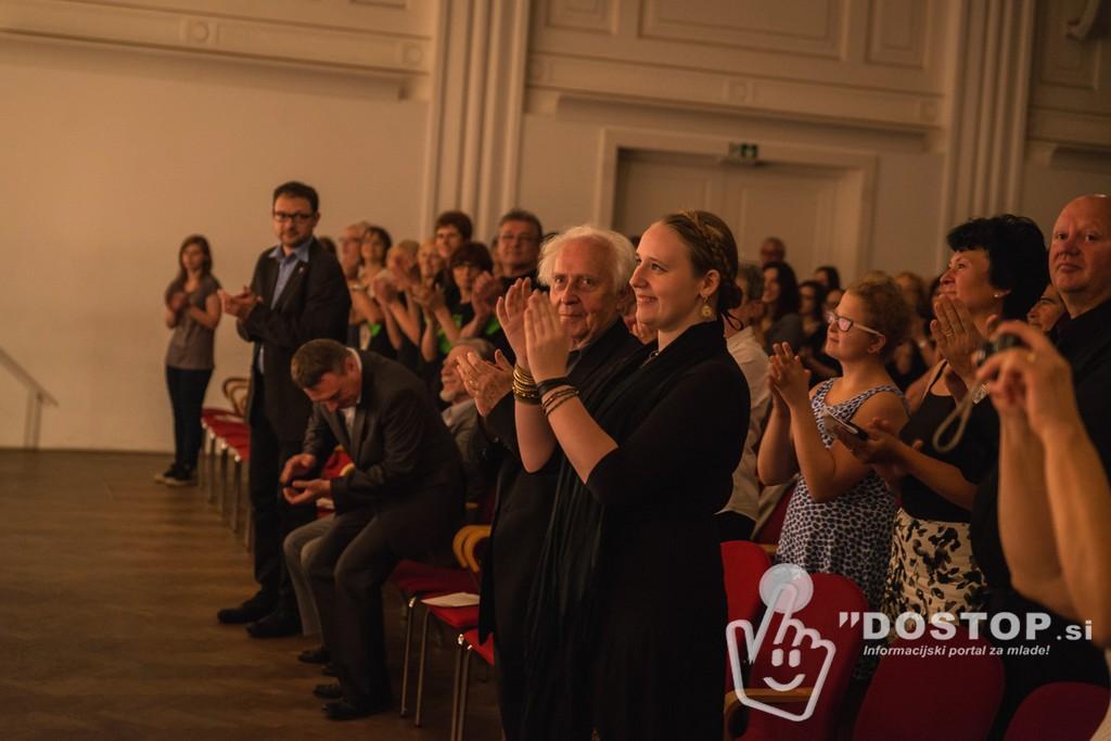 Navdušeno občinstvo Foto: Franci Vranetič