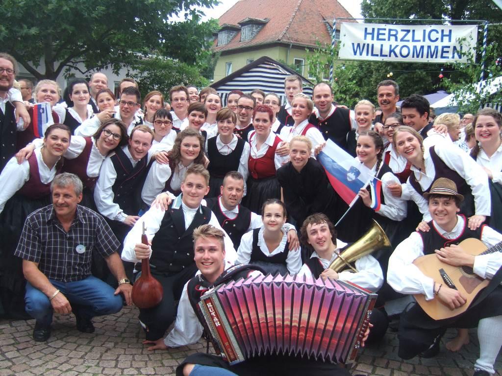 S turneje po Nemčiji