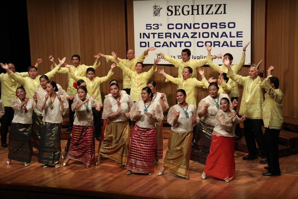Novo Concertante Manila (Filipini) Foto: arhiv tekmovanja Seghizzi
