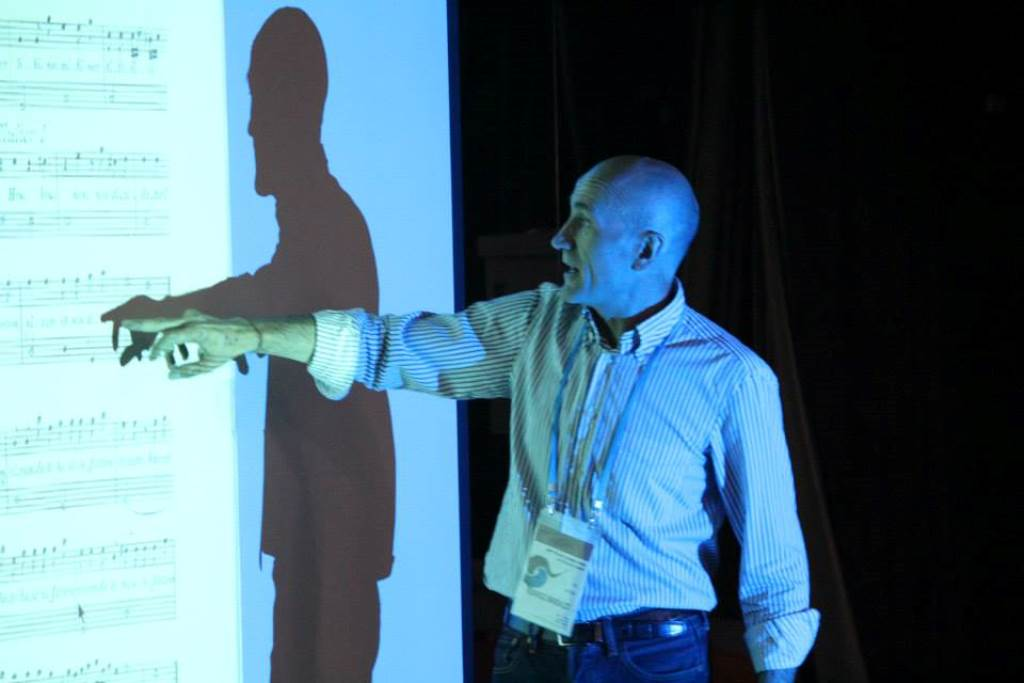 Federico Bardazzi med predavanjem Foto: Francesco Leonardi