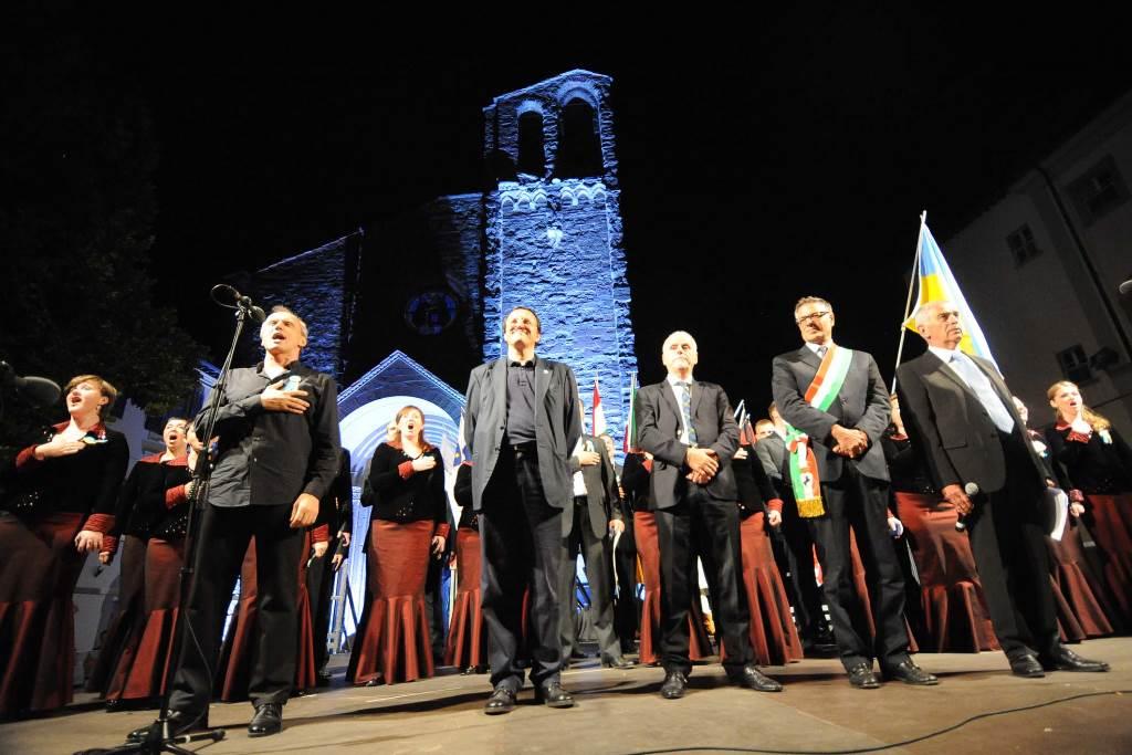 Oreja na »odru pod zvezdami« Foto: Tavanti, Arezzo