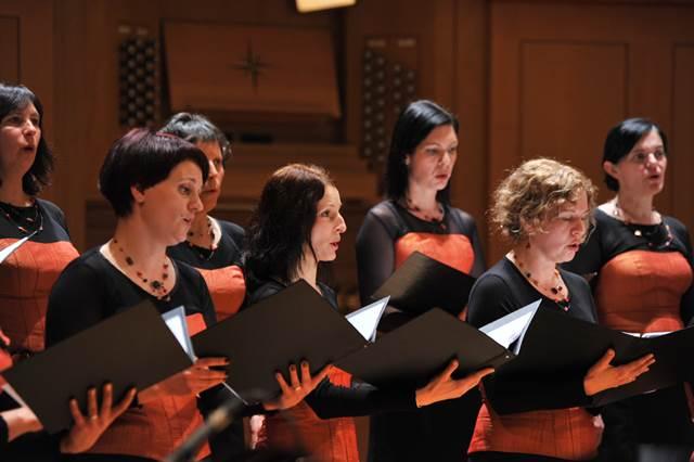 Komorni zbor Musica viva, Tolmin Foto: Janez Eržen
