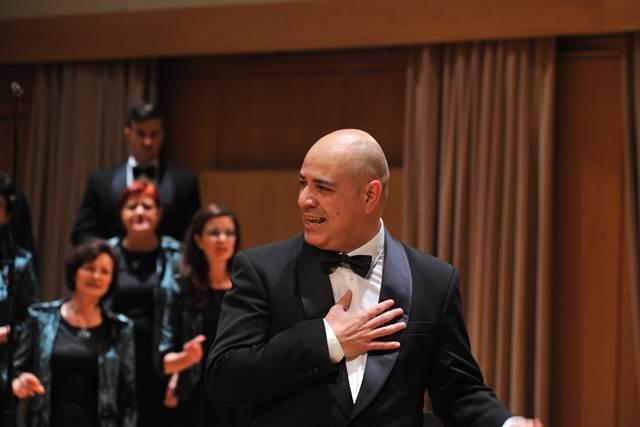 Dirigent Fernando Mejias Foto: Janez Eržen