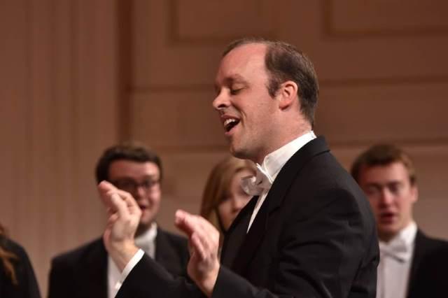 Andrew Crane – tenorist, profesor, dirigent Foto: Janez Eržen