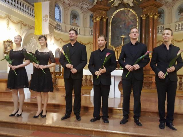 Navdušujoč nastop Ingenium Ensemble