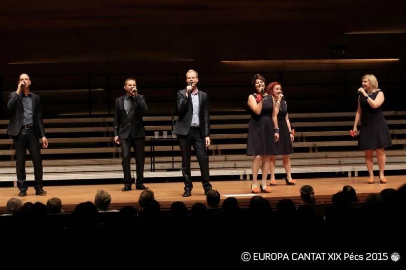 Finska vokalna skupina Rajaton je postala ambasadorka evropskega Društva prijateljev zborovske glasbe. Foto: Europa Cantat
