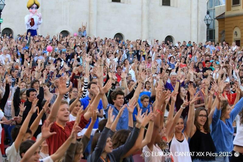 Preplet generacij in narodov – festival Europa Cantat deluje povezovalno v vseh mogočih pogledih. Foto: Europa Cantat
