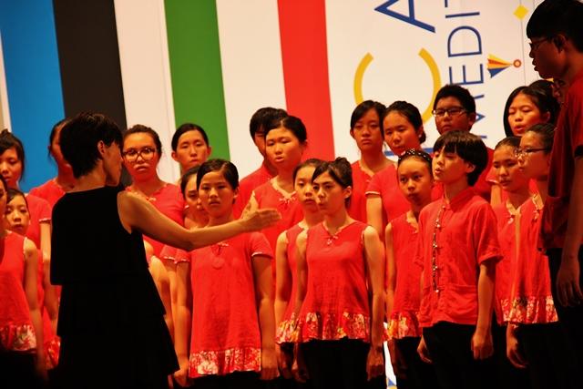 Tajpejski filharmonični mladinski in otroški zbor Foto: Branka Kljun