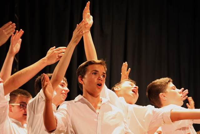 Mladinski zbor Emil Komel Gorica Foto: Branka Kljun