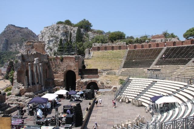 Starogrško gledališče v Taormini Foto: Branka Kljun