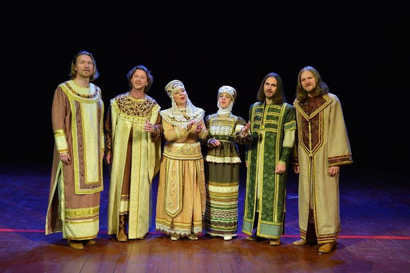 Ansambel duhovne ruske glasbe Svetilen
