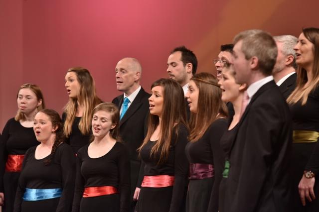 »Irska zborovska scena se je razvila kot samostojno področje v zadnjih dvajsetih, tridesetih letih. Skušamo promovirati irsko glasbo, zaenkrat pa imamo pred seboj še dolgo pot, saj smo kot 'zborovski narod' zelo mladi.« (Bernie Sherlock) Foto: Janez Eržen
