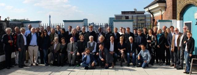 Delegati ECSA v Londonu Foto: arhiv BASCA