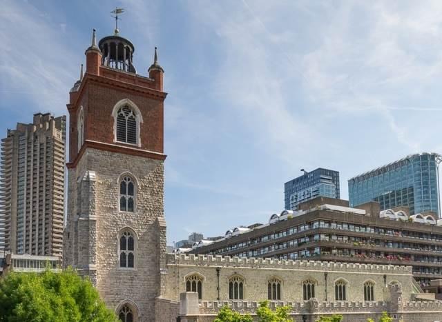 Cerkev St. Giles' Cripplegate v Londonu Foto: www.stgilesnewsite.co.uk