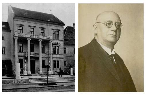 Glasbena matica, Vegova 5, Ljubljana; Matej Hubad (1866–1937)