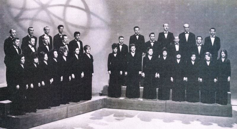 Komorni zbor RTV Ljubljana 1962–1971