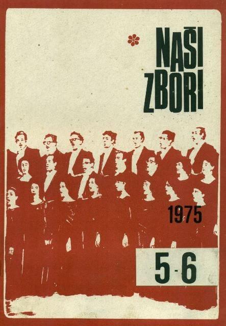 Revija Naši zbori, 1975
