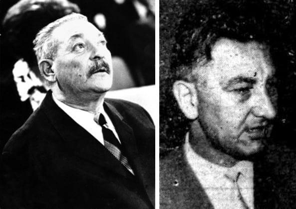 Rado Simoniti (1914–1981); Radovan Gobec (1909–1995)