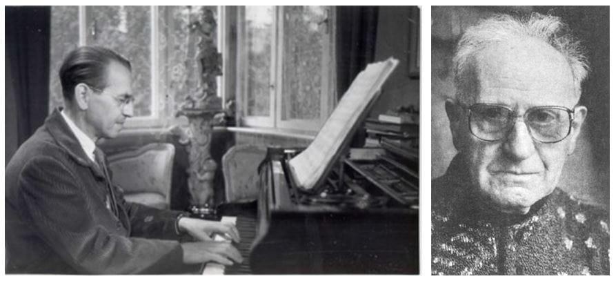 Vilko Ukmar (1905–1991), 1963; Marijan Lipovšek (1910–1995)
