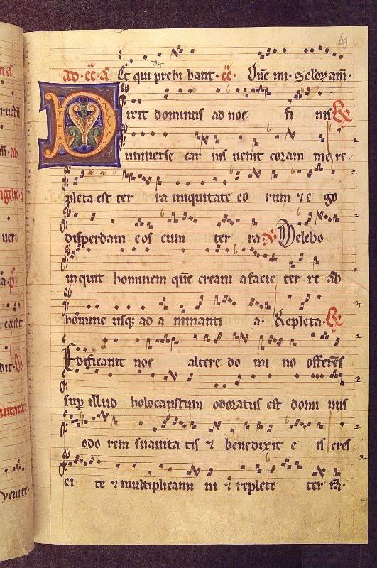 Slika 2, vir: Gradec, Univerzitetna knjižnica, Hs. 273, fol. 69r