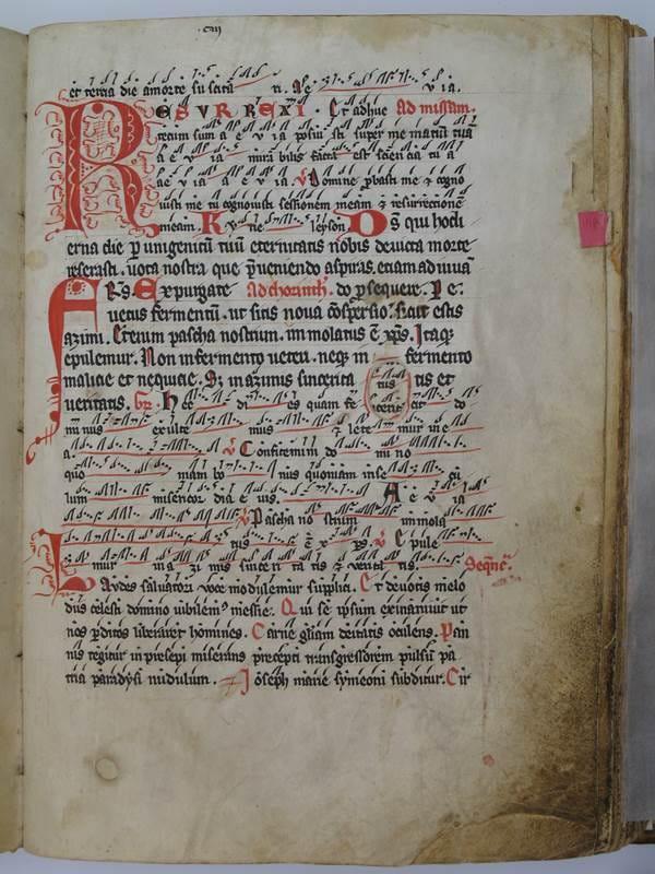 Slika 4, vir: Bozen/Bolzano, Mestni muzej Bozen, Ms 1304, fol. 103r