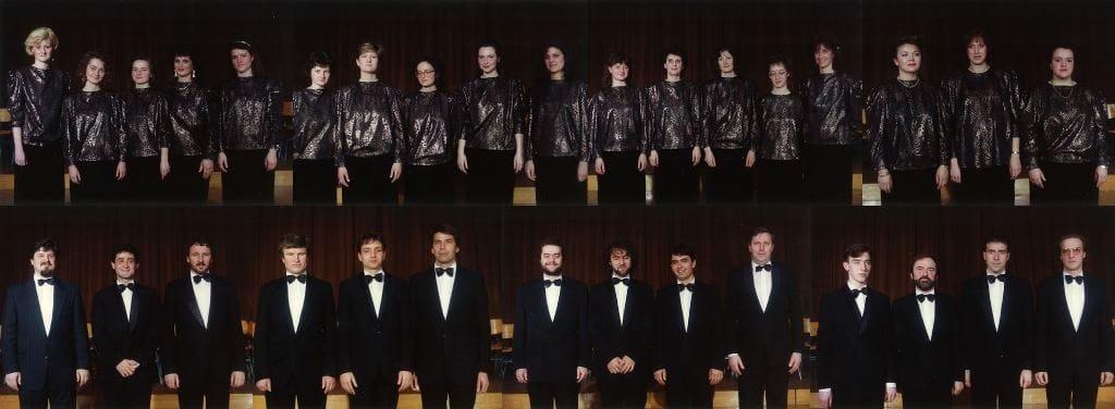 Slovenski komorni zbor, prva zasedba Foto: arhiv Slovenske filharmonije
