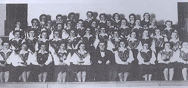 Tik pred drugo svetovno vojno je začela delovati tudi ženska postava APZ-ja. Foto: arhiv NUK
