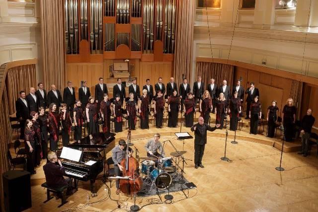Gary Graden, Trio Graden-Zetterberg-Agnas in Zbor Slovenske filharmonije na koncertu 10. aprila 2016