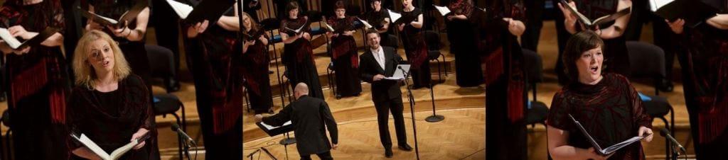 Solisti: Monika Fele, sopran, Martin Logar, tenor, Manca Hribar, mezzosopran