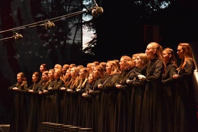 Zbor Karmine Šilec je občinstvo prevzel s profesionalnim, dodelanim nastopom in dovršenimi izvedbami. Foto: Philippe Tempez