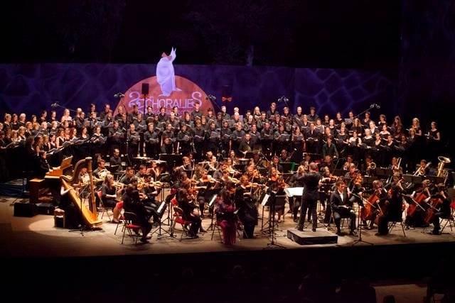 Choralies 2016 v znamenju pomladitve: koncert združenih mladinskih zborov Foto: Michel Cure