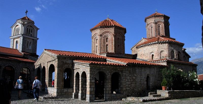 Sv. Naum, samostan iz 9. stoletja