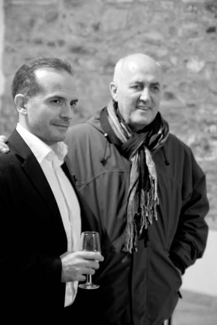 Michele Josia in Javier Busto Foto: Blaž Rosa