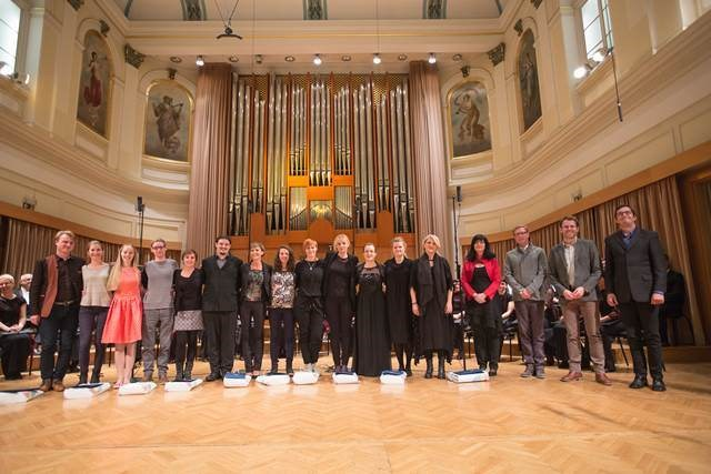 Zbor Slovenske filharmonije, dirigentka Martina Batič Foto: Darja Štravs Tisu