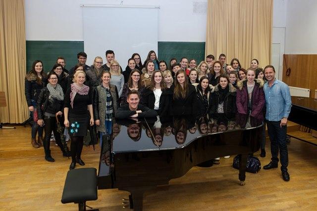 Seminarjev in delavnic so se udeležili tudi študentje mariborske Pedagoške fakultete.