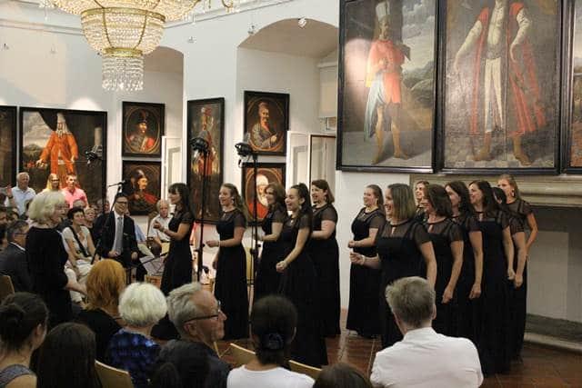 Spored koncerta je bil zelo pester tako po izbiri pesmi kot tudi po žanrih. Foto: Silvestra Brodnjak