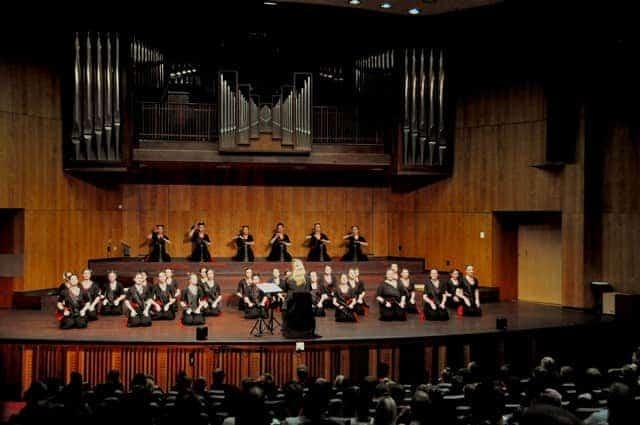 Koncert v dvorani Musaion v Pretorii