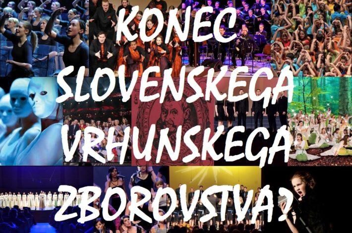 Odprto pismo: Konec slovenskega vrhunskega zborovstva?