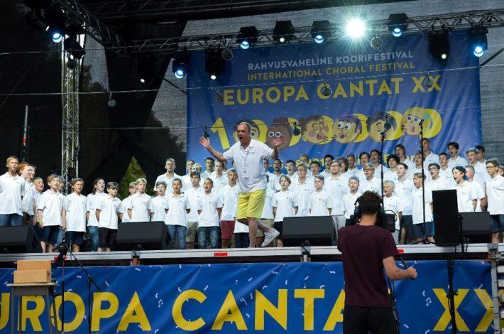 Slovenija častna gostja na festivalu Europa Cantat v Talinu