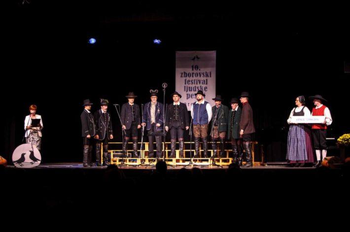 Deset let Zborovskega festivala ljudske pesmi Prevalje