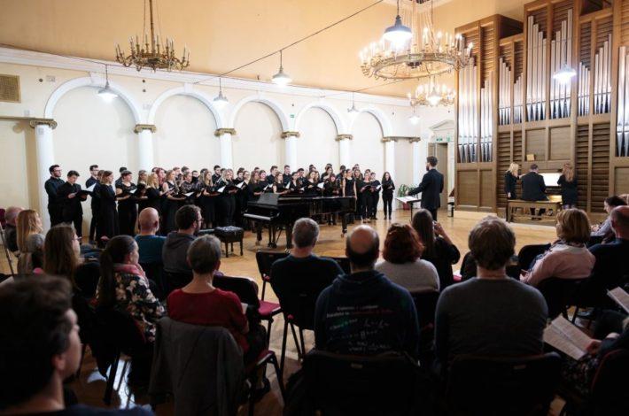Zbori Akademije za glasbo v Ljubljani začenjajo svojo pot navzgor