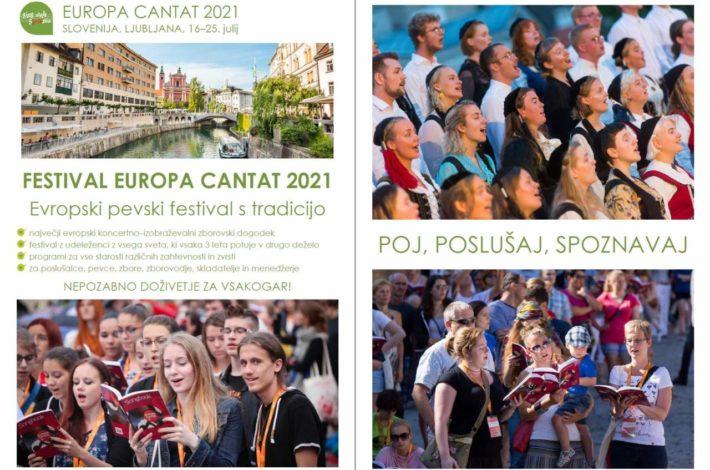 EUROPA CANTAT 2021: Odprto je zbiranje predlogov programov!