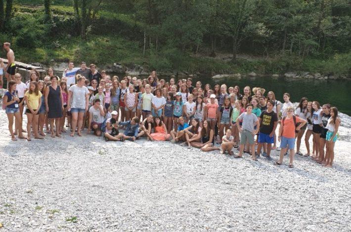 Kam pred začetkom novega šolskega leta? Na Tabor mladih pevcev Primorske, seveda!