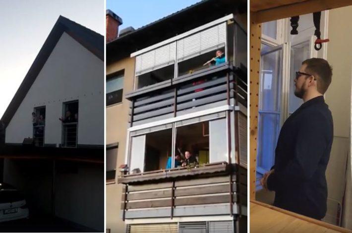 Nadaljujmo z muziciranjem na balkonih – #ostanidoma