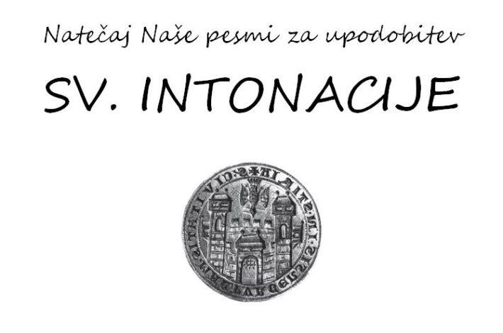 Natečaj za najboljšo upodobitev sv. Intonacije
